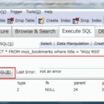Firefox3ブックマークからWizz RSSを削除する方法