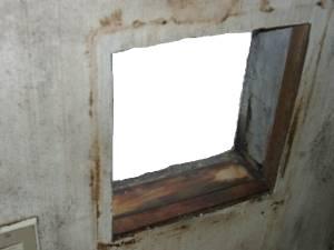 換気扇用の穴