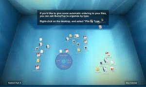 BumpTop 3Dデスクトップ