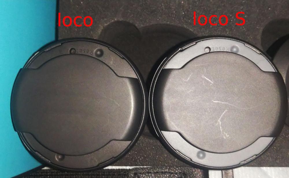 KAT locoとloco S、センサー裏